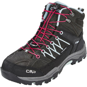 CMP Campagnolo Rigel Mid WP Trekking Shoes Junior Arabica-Sky Light